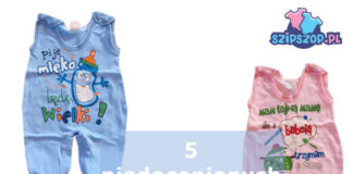 5 niedocenianych ubranek z wyprawki dla noworodka