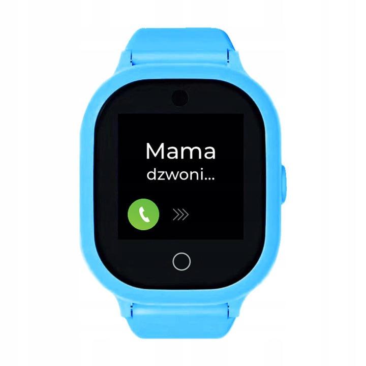 Zegarek GPS z aplikacją Bezpieczna Rodzina